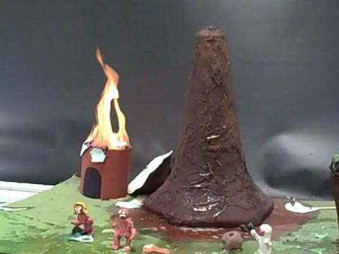 Volcano Day!