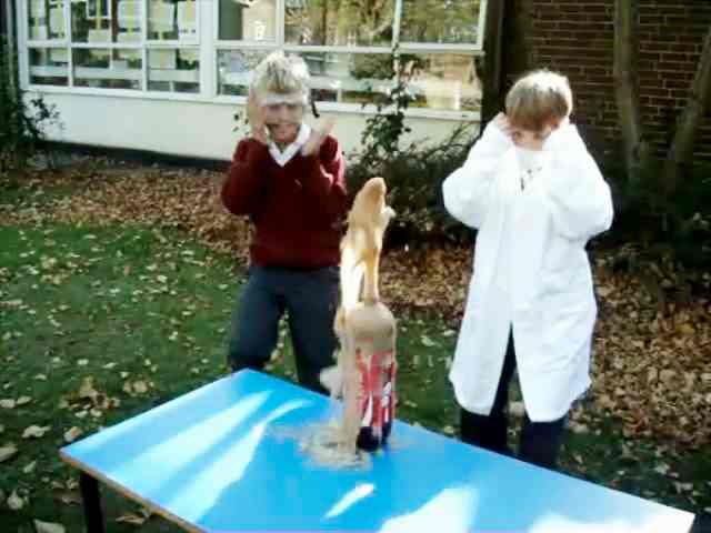 The Coke and Mentos Experiment