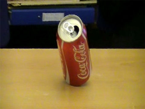 Fizzy Coke Can trick